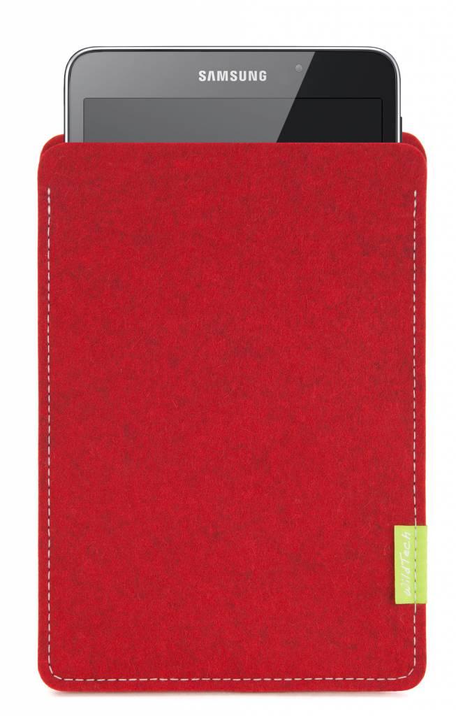 Galaxy Tablet Sleeve Kirschrot-1