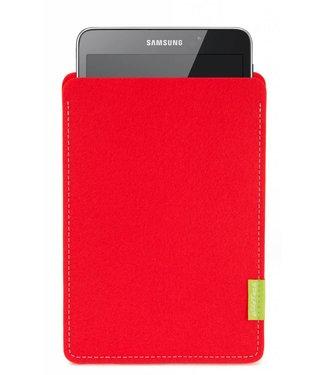 Samsung Galaxy Tablet Sleeve Hellrot