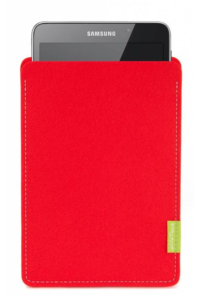 Galaxy Tablet Sleeve Bright-Red