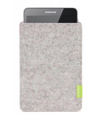 Samsung Galaxy Tablet Sleeve Hellgrau