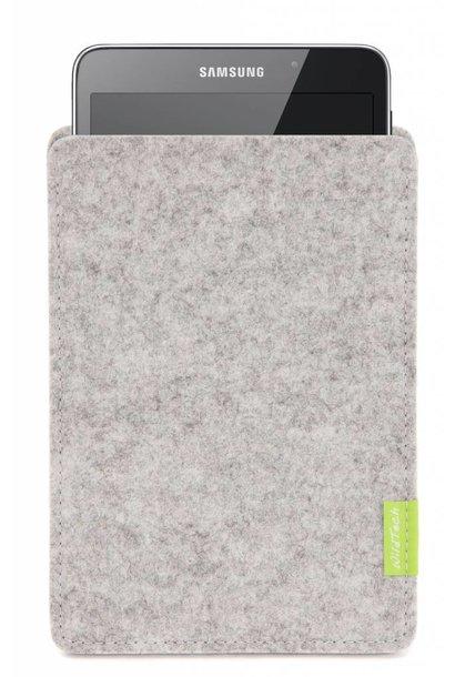 Galaxy Tablet Sleeve Hellgrau