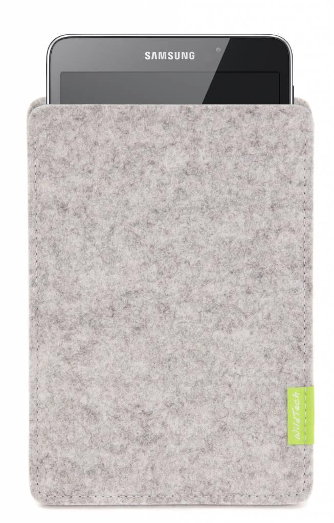Galaxy Tablet Sleeve Hellgrau-1