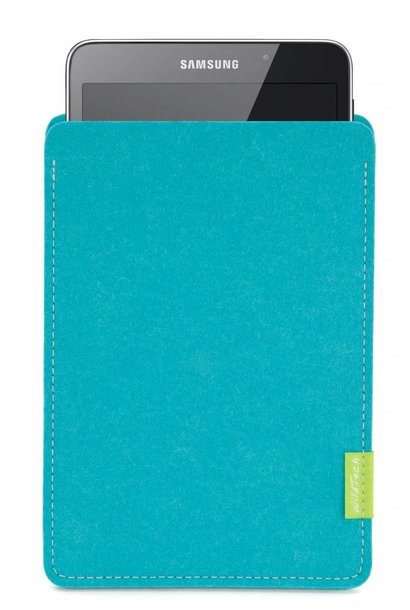 Galaxy Tablet Sleeve Turquoise