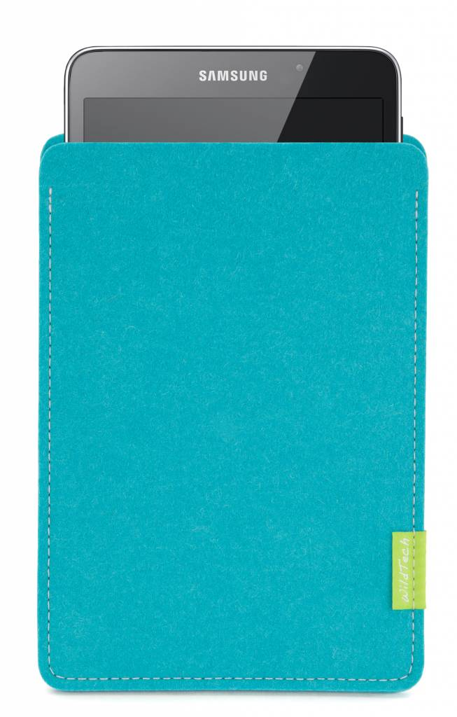 Galaxy Tablet Sleeve Turquoise-1