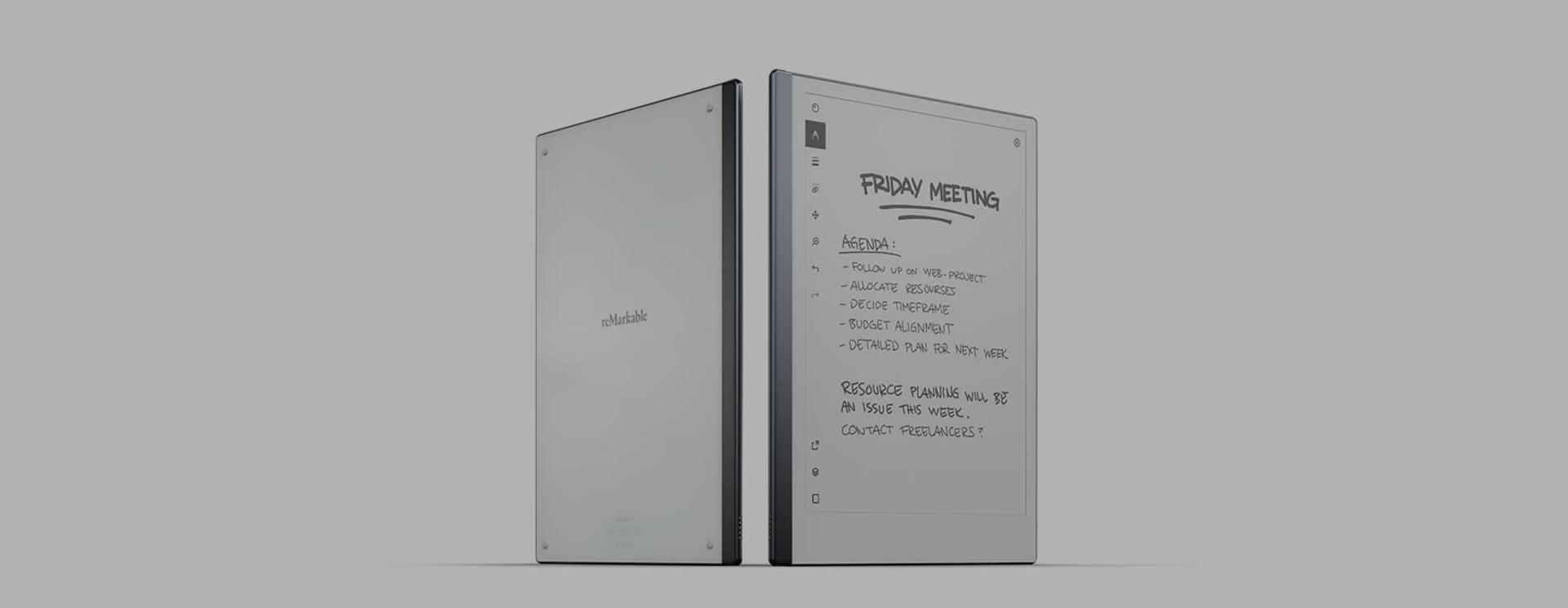 reMarkable 2 Paper Tablet & Marker Sleeves & Hüllen