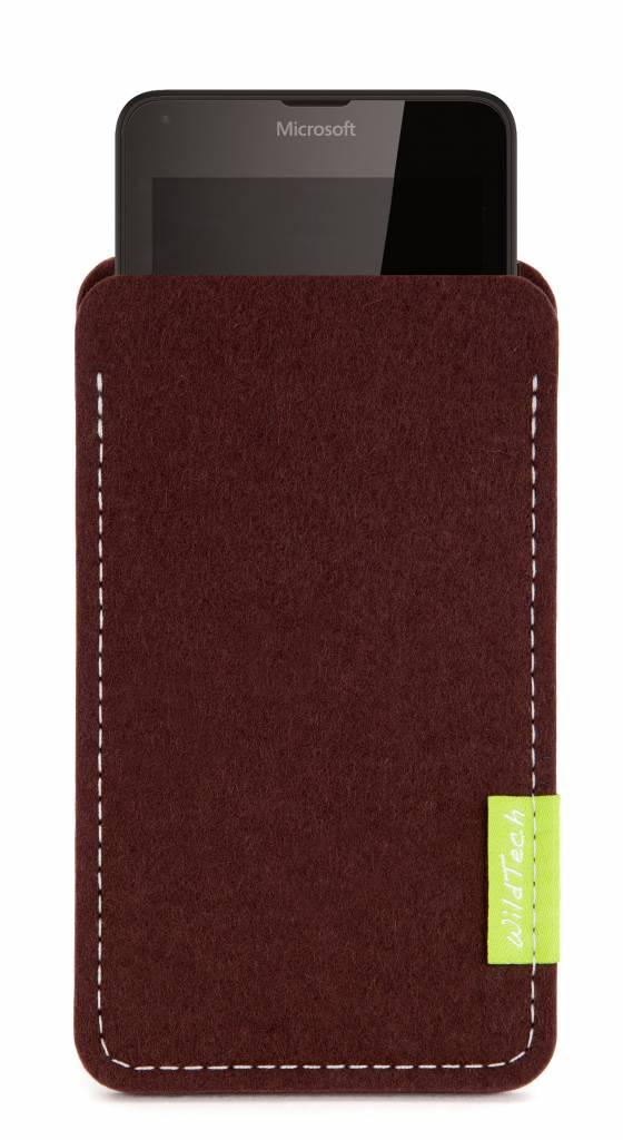 Lumia Sleeve Dunkelbraun-1