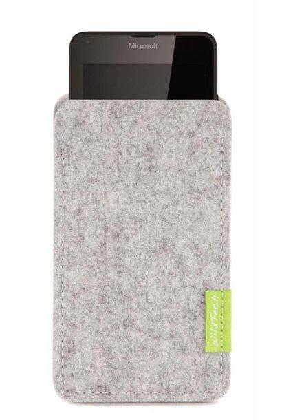 Lumia Sleeve Hellgrau