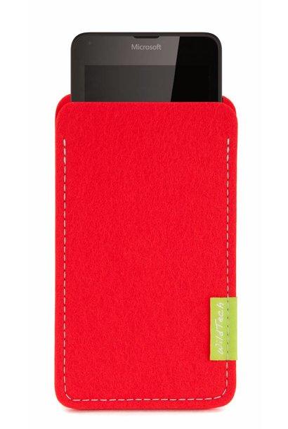 Lumia Sleeve Hellrot