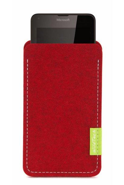 Lumia Sleeve Kirschrot