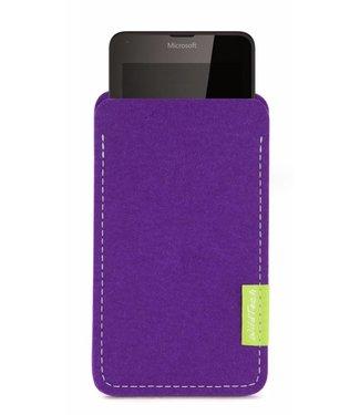 Microsoft Lumia Sleeve Lila