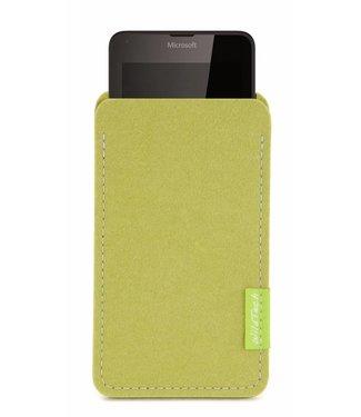 Microsoft Lumia Sleeve Lindgrün