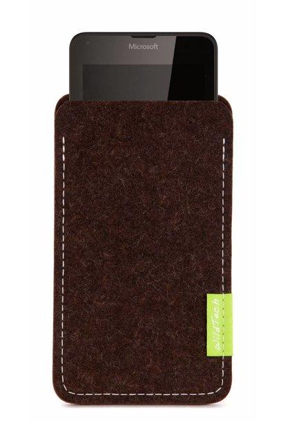 Lumia Sleeve Trüffelbraun