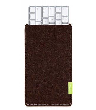 Apple Magic Keyboard Sleeve Trüffelbraun