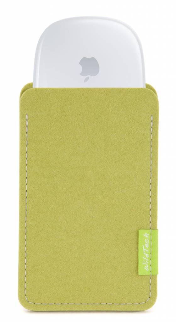 Magic Mouse Sleeve Lime-Green-1