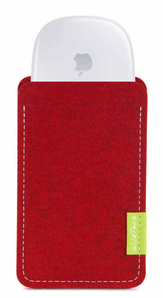 Magic Mouse Sleeve Cherry-Red-1