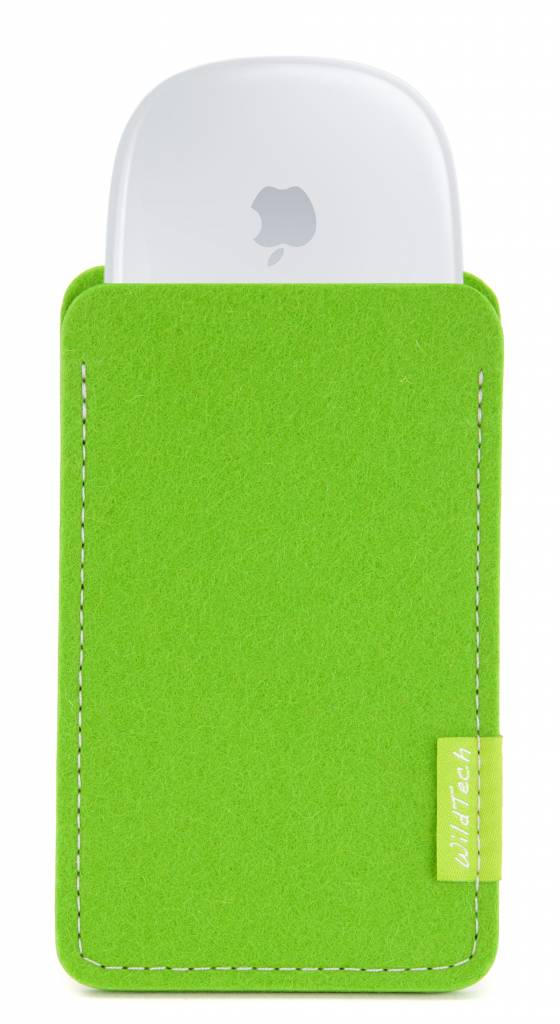 Magic Mouse Sleeve Bright-Green-1