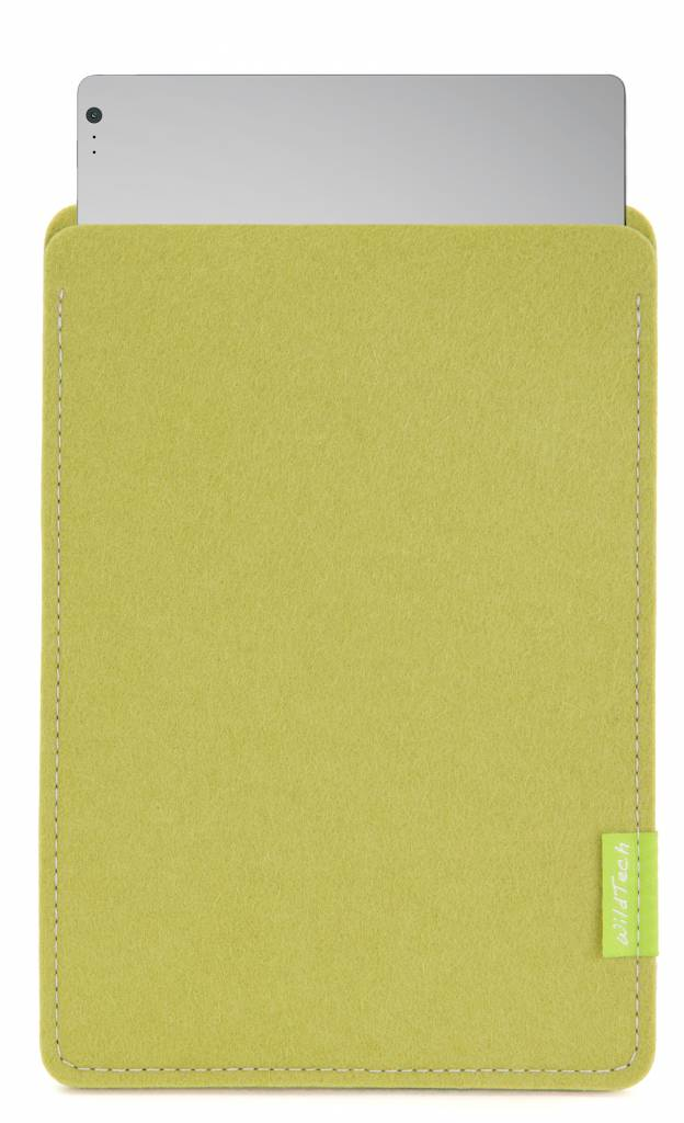 Surface Book/Laptop Sleeve Lime-Green-1