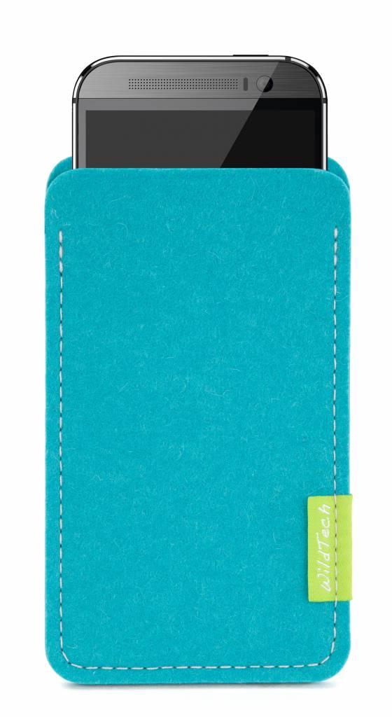 U / Desire / One Sleeve Turquoise-1