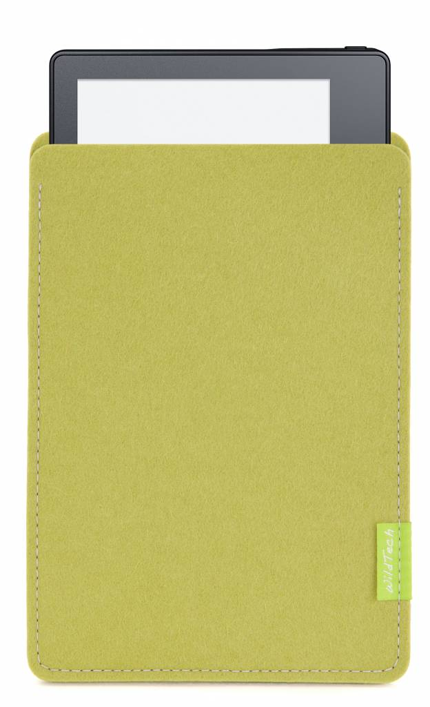 Kindle Sleeve Lime-Green-2