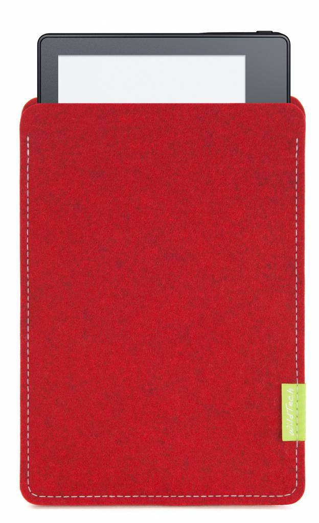 Kindle Sleeve Kirschrot-2