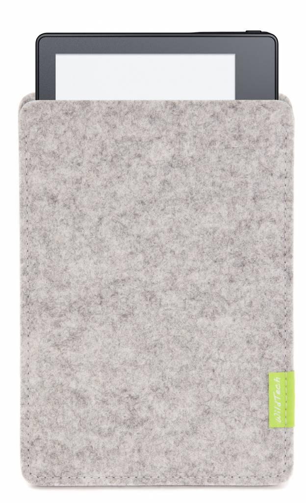 Kindle Sleeve Hellgrau-2
