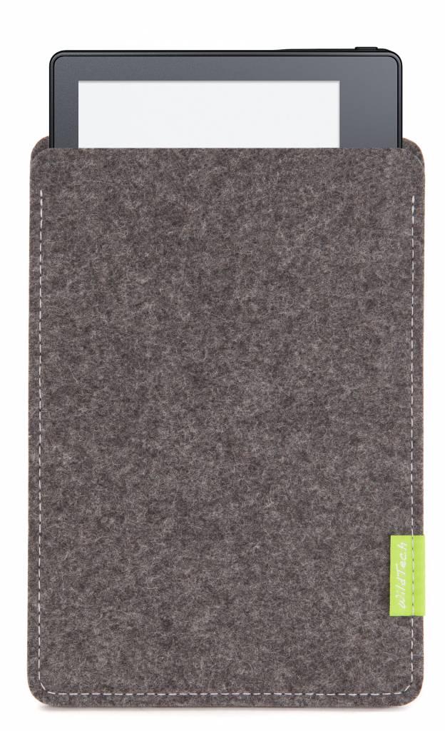 Kindle Sleeve Grau-2