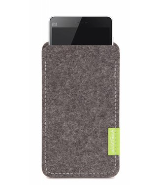 Xiaomi Smartphone Sleeve Grau