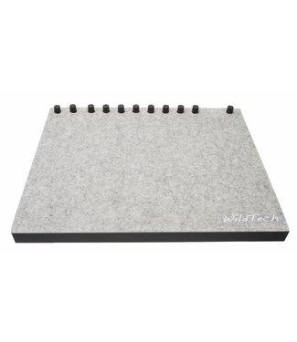 Ableton Push DeckCover Hellgrau