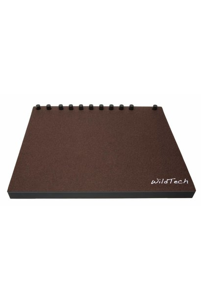 Push DeckCover Dark-Brown