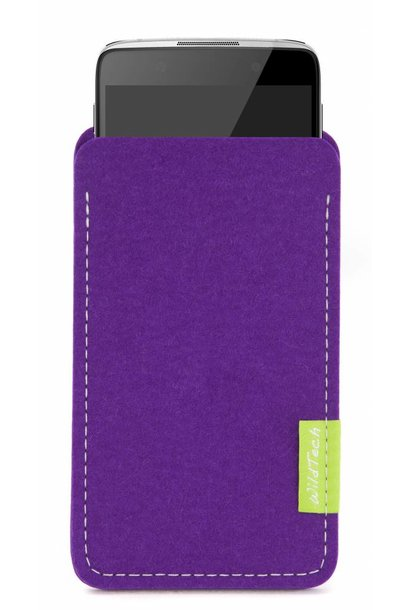 One Touch Sleeve Purple