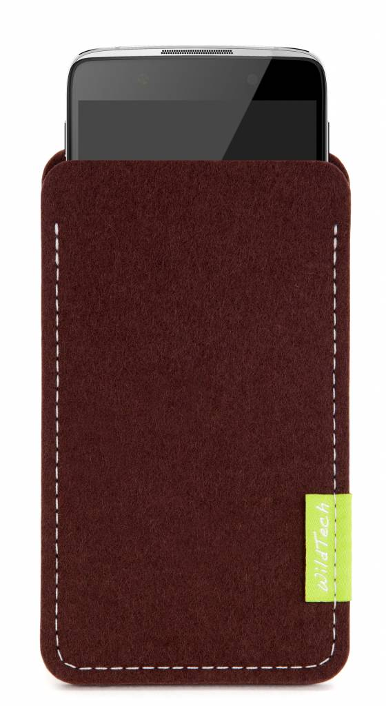 One Touch Sleeve Dunkelbraun-1
