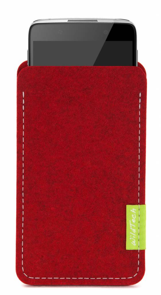 One Touch Sleeve Kirschrot-1