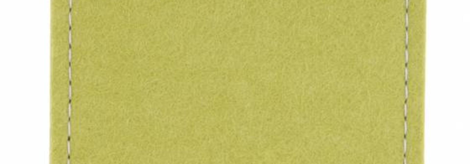 One Touch Sleeve Lindgrün