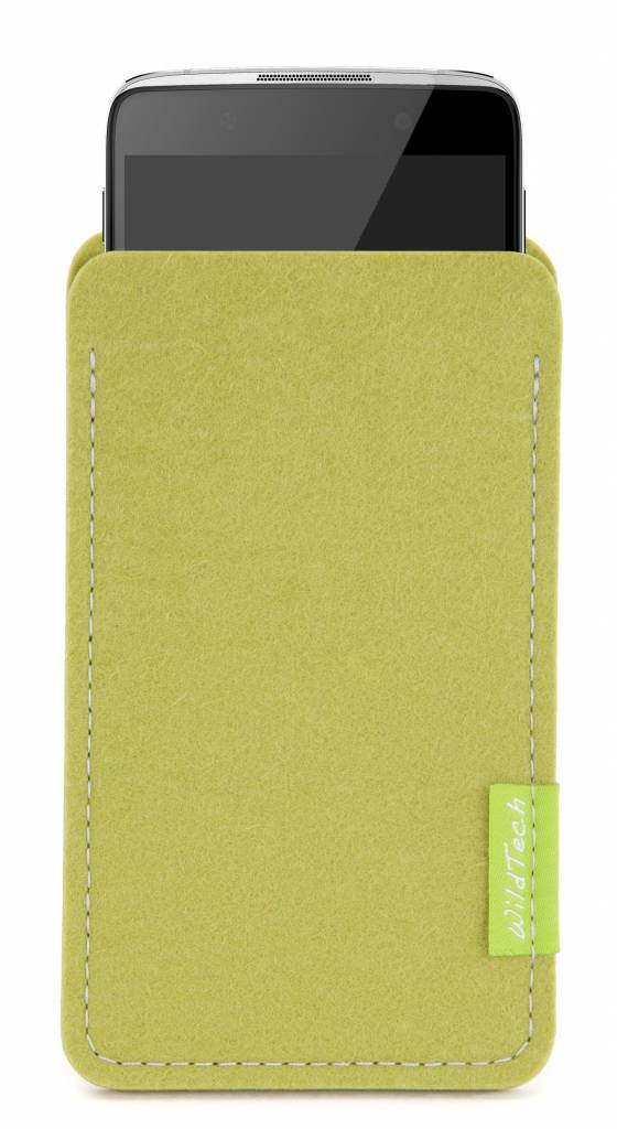 One Touch Sleeve Lime-Green-1