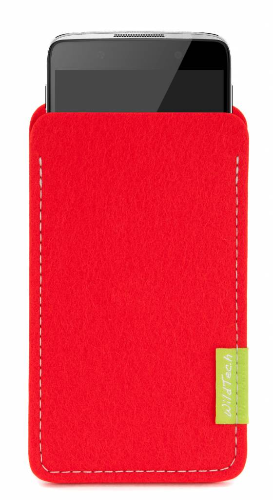 One Touch Sleeve Bright-Red-1