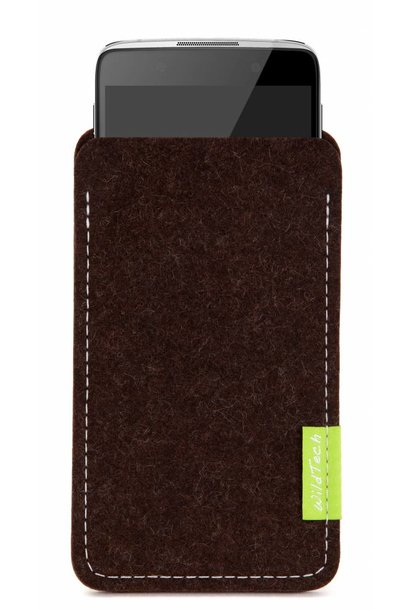 One Touch Sleeve Truffle-Brown