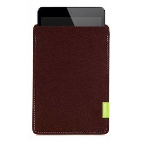 iPad Sleeve Dunkelbraun