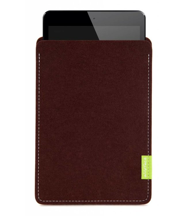 Apple iPad Sleeve Dunkelbraun