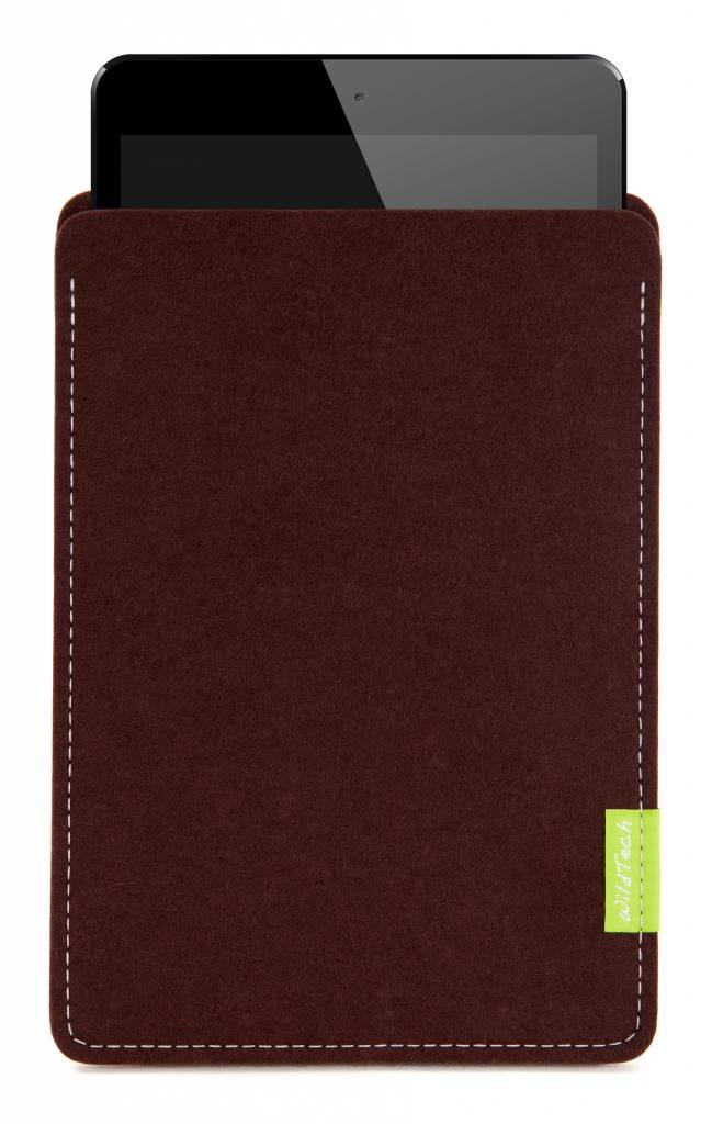 iPad Sleeve Dunkelbraun-1