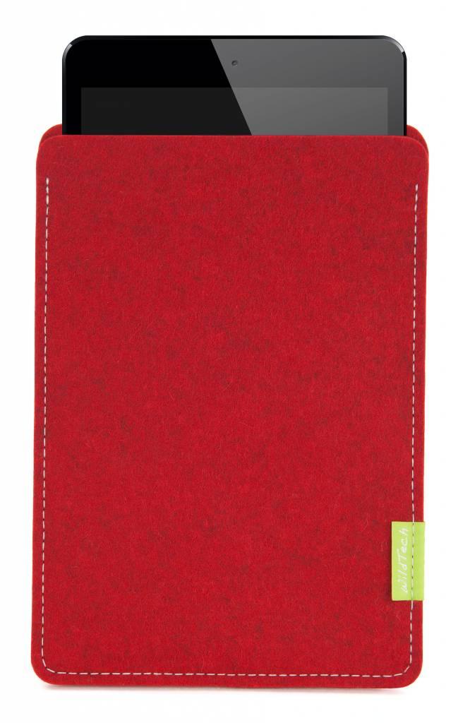iPad Sleeve Kirschrot-2