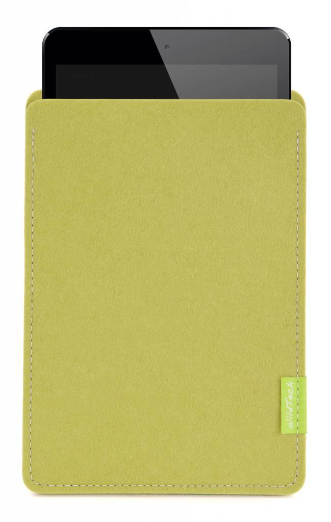 iPad Sleeve Lindgrün-2