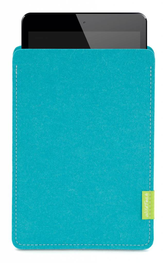 iPad Sleeve Turquoise-2