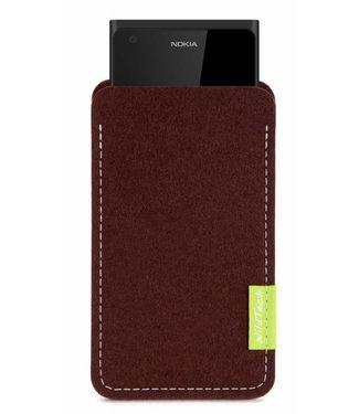 Nokia Sleeve Dunkelbraun