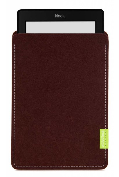 Kindle Sleeve Dark-Brown