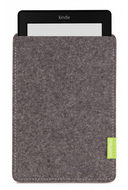 Kindle Sleeve Grau