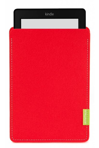Kindle Sleeve Bright-Red