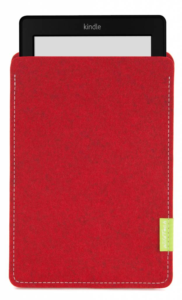 Kindle Sleeve Kirschrot-1