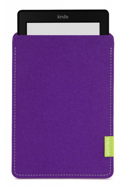 Kindle Sleeve Purple
