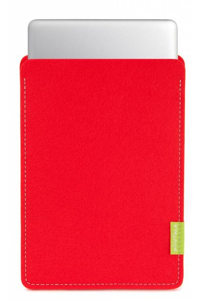MacBook Sleeve Bright-Red