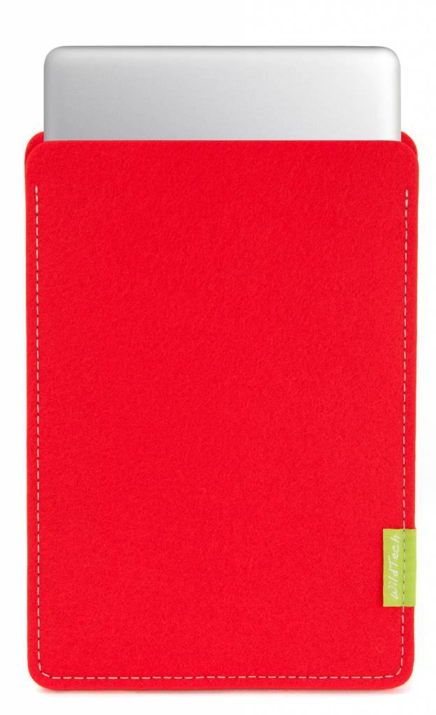 MacBook Sleeve Hellrot-1